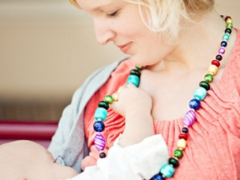 Nursing Necklace from Mommy Necklaces