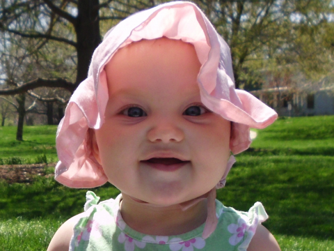The most popular pretty baby girl names.